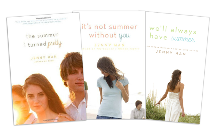 The Summer I Turned Pretty Book Cover Models ~ Ya reading for sunny days a list the summer