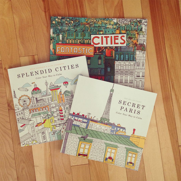 Fantastic Cities By Steve McDonald Splendid Rosie Goodwin Alice Chadwick Secret Paris Zoe De Las Cases